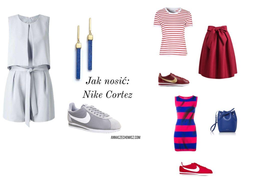 Jak nosić Nike Cortez by Anna Czechowicz