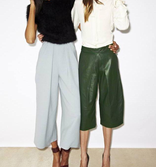 Jak nosić: Spodnie Culottes.